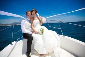 Gibraltar by boat to Puro Beach - Laguna Village