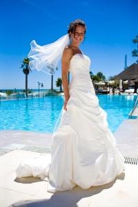 The Bride Rebecca - Wedding Puro Beach - Laguna Village