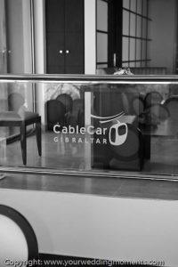 Cable Car Suite Gibraltar Wedding
