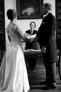 Andy & Liz Wedding in the Garrison Library Gibraltar