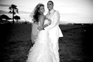 Beach Wedding - Nathan & Leah - Guadalpin Hotel