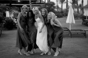 Kempinski Wedding - The Girls