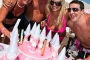Lucy's 21st Birthday Party at Ocean Club Puerto Banus, Marbella